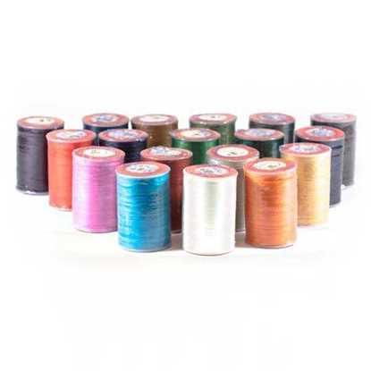 Разноцветные вощеные нити  0.55мм