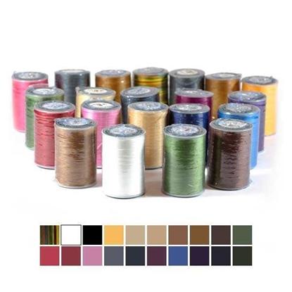 Набор разноцветных вощеных нитей