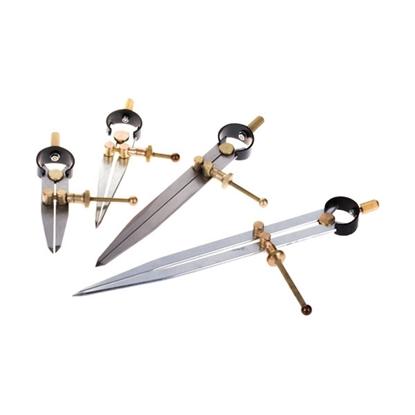 Изображение Кронциркуль разметочный с винтом (золото)